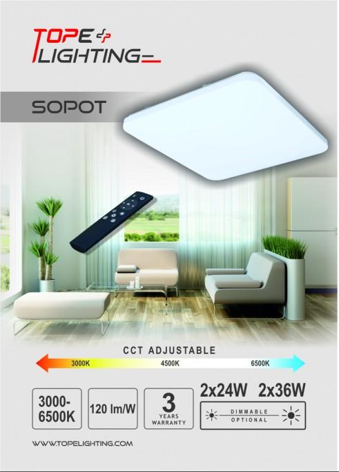 SOPOT_2x24W_S_LED_4470