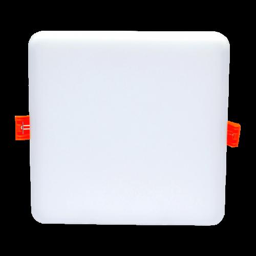 15W kvadratinė, įmontuojama LED panelė RONDA