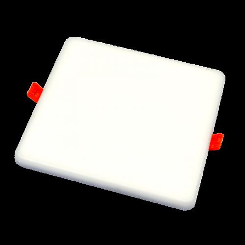 22W kvadratinė, įmontuojama LED panelė RONDA