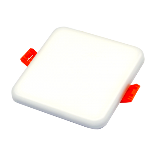 8W kvadratinė, įmontuojama LED panelė RONDA