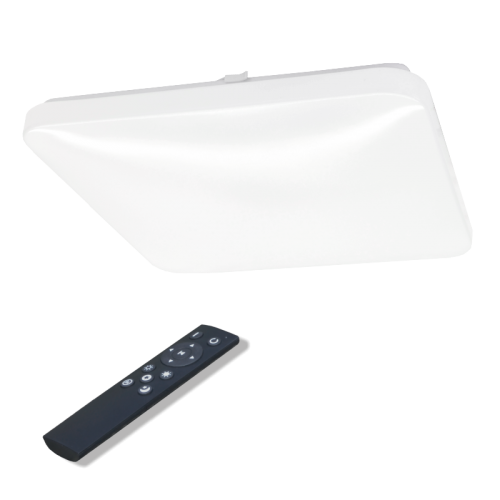 2x24W kvadratinis lubinis LED šviestuvas SOPOT